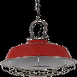 Hanglamp Milan 44 cm Glans Rood