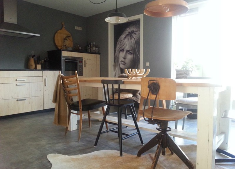Shop the look: knusse woning met stoere materialen