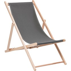 Kare Design Fauteuil beach Easy Summer Katoen grijs 96 x 56 x 96