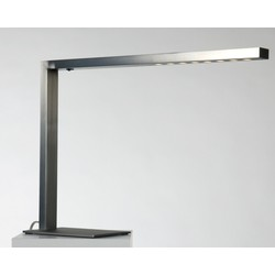 Linea Verdace Bureaulamp Minimum - H39 Cm - Mat Geborsteld