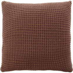 Kussen Knitted paars 45x45cm
