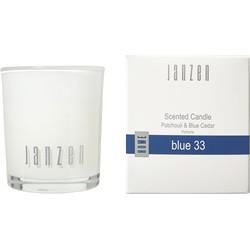 Janzen Home Parfum Kaars Blue 33