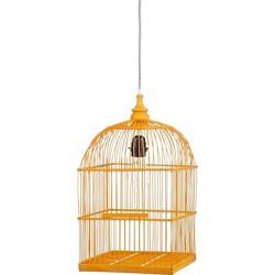 Kidsdepot Birdy Hanglamp Bamboe - Geel