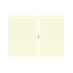 Filofax Pocket Inserts, Ruled Paper, Cotton Cream