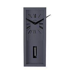 Acctim Ulrik Pendulum Clock, Sky Grey