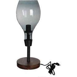 Casa Vivante clark bureaulamp grijs maat in cm: 56 x 20