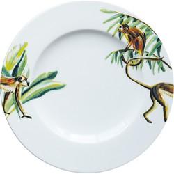 Ontbijtborden 21 cm Jungle Stories Aapjes