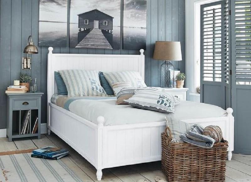 maritimes schlafzimmer. Black Bedroom Furniture Sets. Home Design Ideas