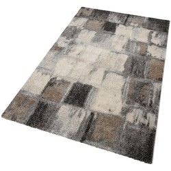 Teppich, Merinos, »ELEGANT MOSAIC«, gewebt