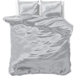 Sleeptime Beauty Skin Care Dekbedovertrek Silver-140x200/220