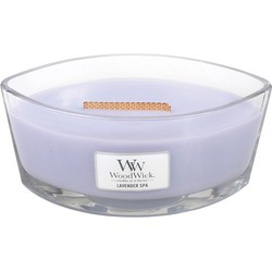 Woodwick HearthWick Flame Ellipse Lavender Spa