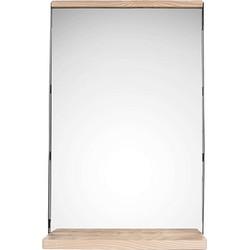 pt, Simplicity Tafel Spiegel/Hout - 35 x 11 x 55 cm