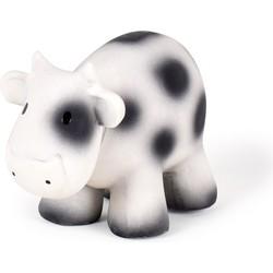 Koe Bijt- en Badspeelgoed met Rammelaar - Tikiri