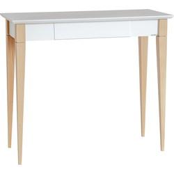 MIMO bureau 85 cm klein wit