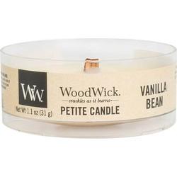 Woodwick Vanilla Bean Petite heartwick candle