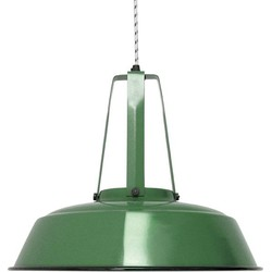 Hanglamp Industriële Workshop - L - Groen - HK Living
