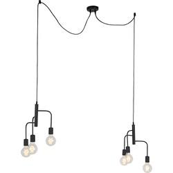 Modern Pendant Lamp Black 2 x 3 - Facile