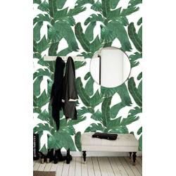 Zelfklevend behang Jungle Bananenblad groen 122zx244 cm