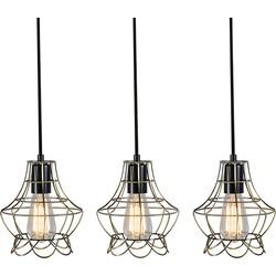 Set of 3 Pendant Lamp Licor Luxe 2 Bronze