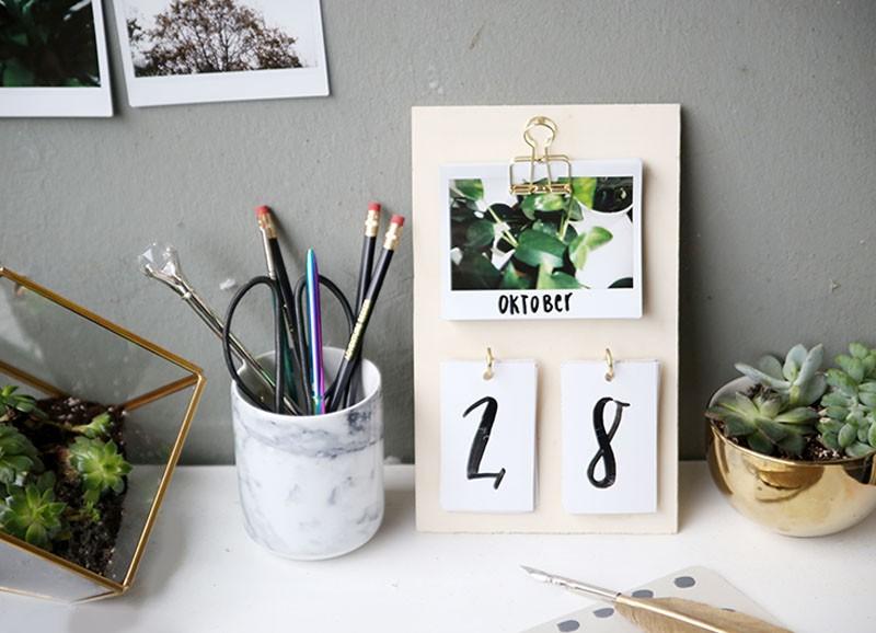 DIY: persoonlijke fotokalender