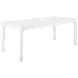 Eettafel wit 180 x 90 cm CARY