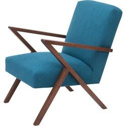 Sternzeit Retro Fauteuil Turquoise