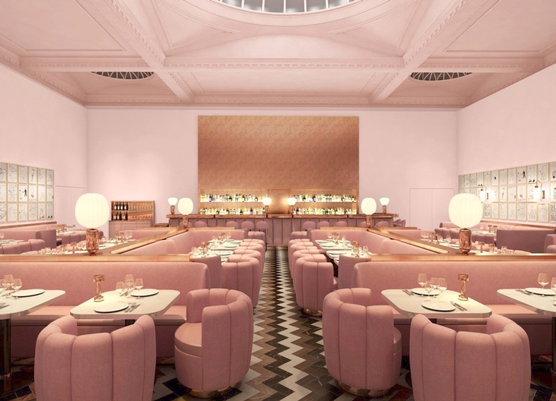 We Love: London Restaurant Sketch