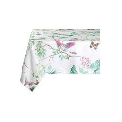 Marinette Saint-Tropez Savana White Lagoon Table Cover