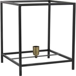 Tafellamp MARLEY - mat zwart/ant brons