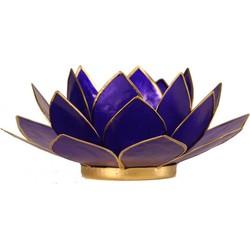 Fine Asianliving Sfeerlicht open lotusbloem paars