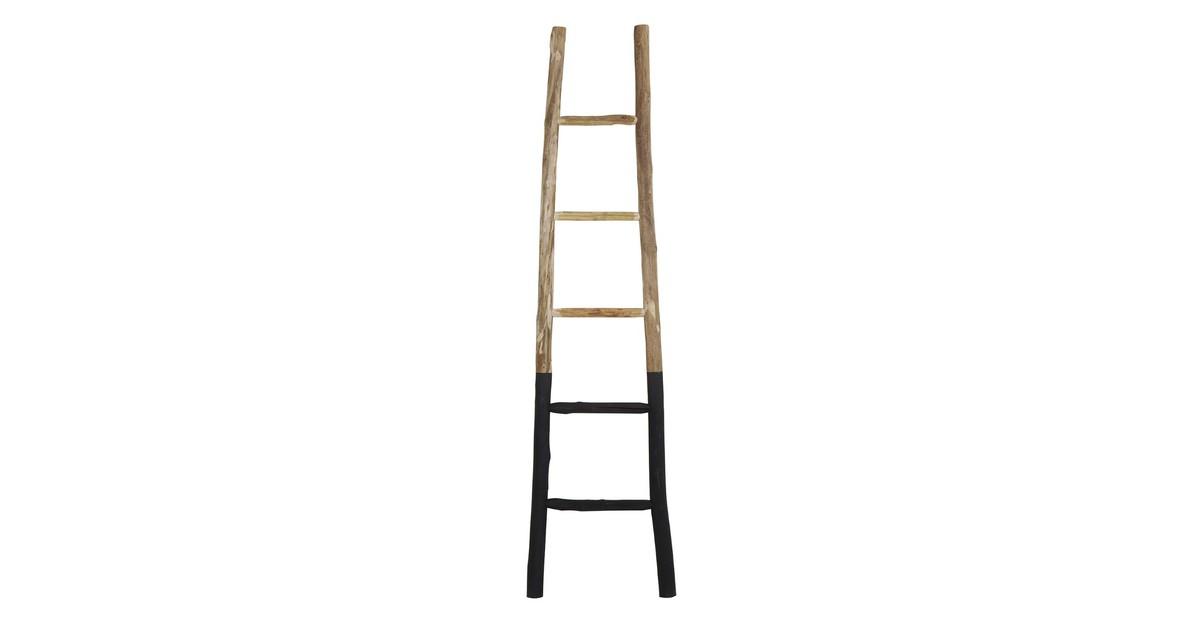 Light and living Light&Living ladder Sten Zwart XL 180 x 42