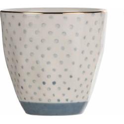 Kitchen Trend Mok Dot Blue | 8,5 cm x Ø9 cm