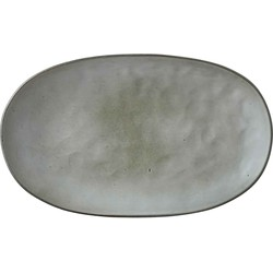 Mica Decorations tabo bord grijs maat in cm: 35,5 x 21,5 x 4,5