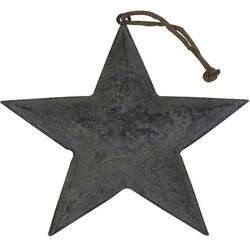 Deco Star 21x1cm Zink