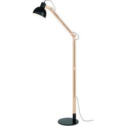Melbourne - Vloerlamp - Zwart