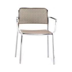 Kartell Audrey Chair Shiny Aluminium