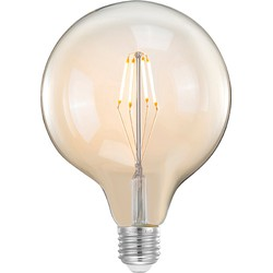 LABEL51 - LED Kooldraadlamp Bol XL - Industrieel -