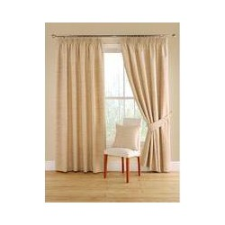 Montgomery Totem natural curtains 228cm x 137cm, Natural