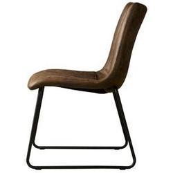 Bunol Sidechair Dark Brown 1078-03