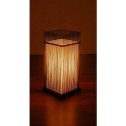 """Fine Asianliving Fine Asianliving Oosterse Bamboe Tafel Bureau Lamp - """"Ryan"""""""