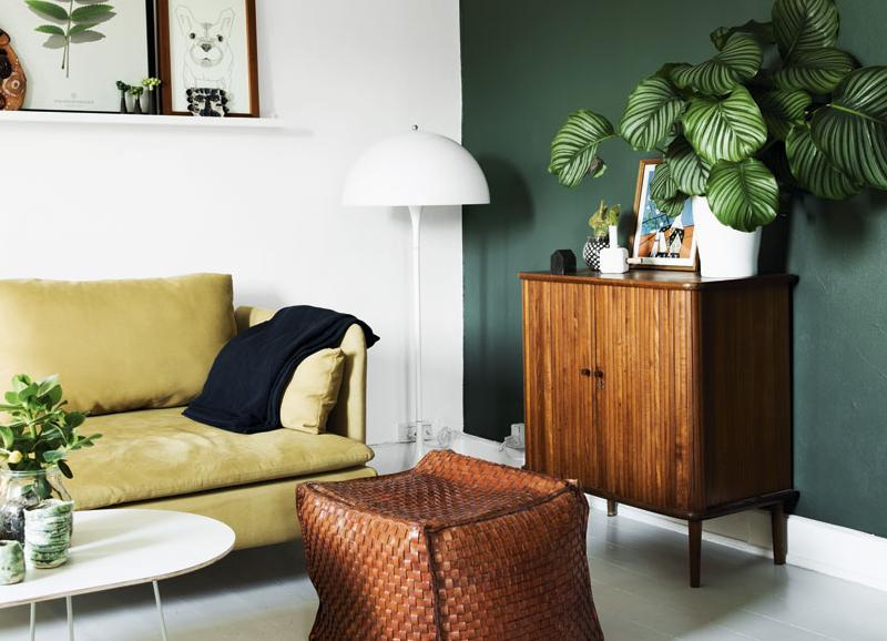 Olijfgroen In Huis : Color crush: olijfgroen in je interieur alles om van je huis je