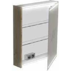 Thebalux Deluxe Spiegelkast linksdraaiend 60x13,5x70 cm Sherwood