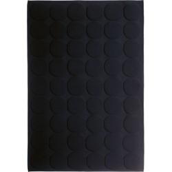 Marimekko - Pienet Kivet Badematte, schwarz
