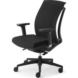 24Designs Bureaustoel Arti Chair - Zwart