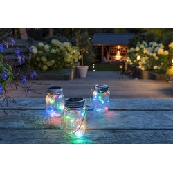 LED Lovers set van 3 led solar lamp kleur