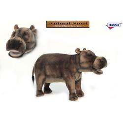 Knuffel Stoel Nijlpaard - Hansa Creation