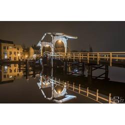 """Rembrandt Bridge"" op Dibond 120cm"