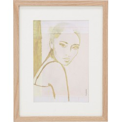 HKliving Canvas Print Stella S 35 x 27 x 1,5