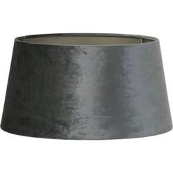 Lampenkap n-drum ZINC - 40-35-20cm - graphite