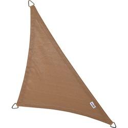 Nesling Coolfit schaduwdoek driehoek 90° - 4.0x4.0x5.7m - Zand